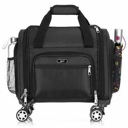 16 In Spinner Underseat Bag 4 Wheeled Carry On Luggage Rolli