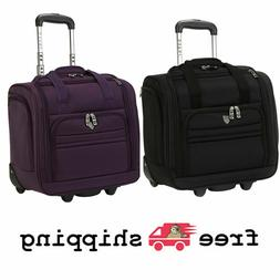 """16"""" Rolling Underseat Carry-on under seat Travel Luggage, Fu"""