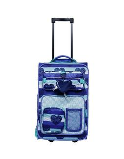 Crckt 18 Kids' Carry On Luggage - Blue Heart