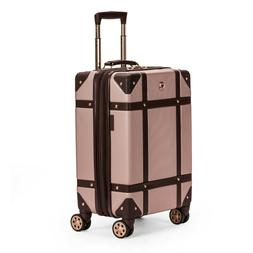 """SWISSGEAR 19"""" Hardside Trunk Expandable Carry On Suitcase Ro"""