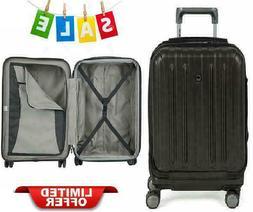 """19"""" Luggage Helium Titanium International Carry On Expandabl"""