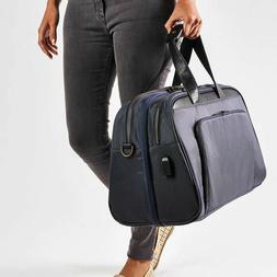 $198 NEW Nomad Lane Bento Bag Navy Blue w/ Bronze Zipper Car