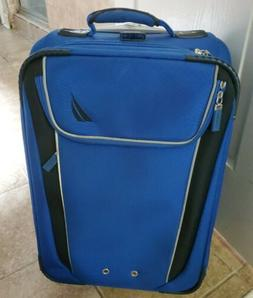 Nautica 2 Piece  carry on Luggage , blue & Black Two Colors