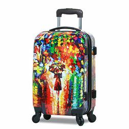 20 inch carry on hardside spinner luggage