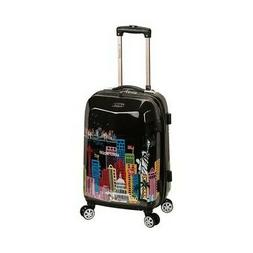 """Rockland 20"""" Polycarbonate Carry On, America"""