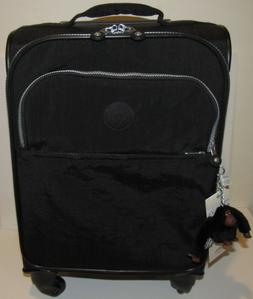 Kipling 22 Inch Carry On Rolling Suitcase Black Spinner NEW