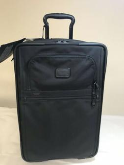 Tumi 22020D2 Alpha 2 BLACK Carry on Luggage Upright Expandab