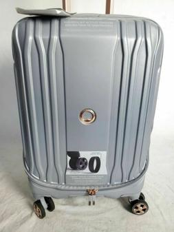 """New Delsey Eclipse 21"""" Carry-On Spinner Luggage Hard Shell T"""