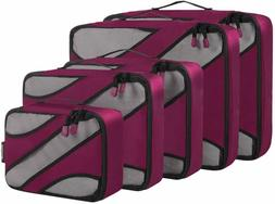 5 set travel packing cubes luggage carry