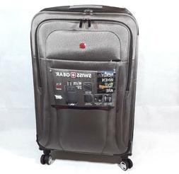 """SwissGear 6305 28"""" Zurich Expandable Spinner Luggage, Pewter"""
