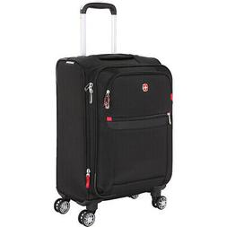 """SwissGear Travel Gear 6568 19"""" Spinner Carry-On Luggage Soft"""
