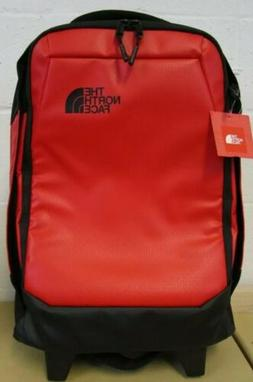 """The North Face Accona Carry-On Wheeled Luggage Red 19"""" rolli"""