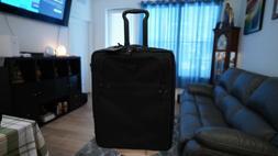 "TUMI Alpha Continental Black 2 Wheeled 22"" Carry On Luggage"