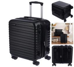 AmazonBasics Hardside Spinner Luggage Carry On 20 Inch Light