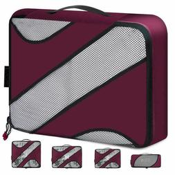 BAGAIL Travel Packing Cubes Luggage Carry On Packing Organiz