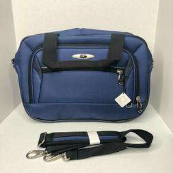 Skyway Blue Nylon Carry On Shoulder Weekender Luggage Bag...