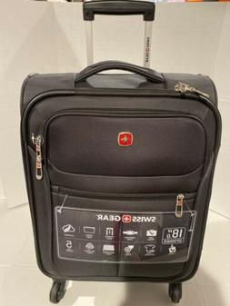 "Brand New SwissGear Travel Gear  18"" Spinner Carry-On Lugg"