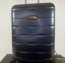"London Fog Brentwood 20"" Hardside Spinner Carry on Suitcase"