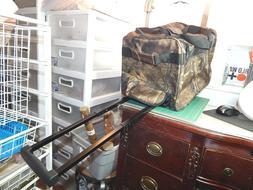 Pacific Coast Trail Camo Carry On Luggage/Duffel Bag w Wheel