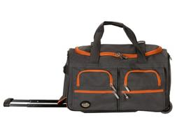 Carry On Luggage 22 Inch Rolling Duffle Bag Carry On with Wh
