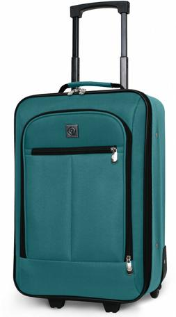 Carry On Luggage Suitcase 18 In Small Cabin Bag Lightweight