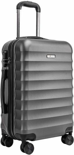 CarryOne Hardside Carry on Luggage, Lightweight Suitcase wit