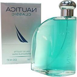 Nautica Classic Men's Eau De Toilette Spray, 3.4 fl oz