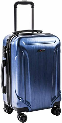 CarryOne Expandable Luggage 20in PC+ABS Carry on Luggage Tra