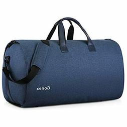 Gonex Garment Bag Carry Duffle Suit With Shoe Pocket, Conver