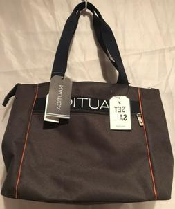 Nautica Hayes Point Tote Shoulder Bag 18 BT Travel Luggage 9