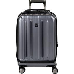 Delsey Helium Titanium International CarryOn Expandable Spin