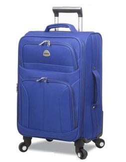 """HI-PACK 20"""" Carry-On Rolling Lightweight Spinner Luggage, Bl"""