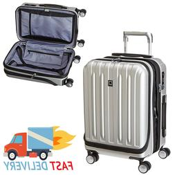 International Carry On Spinner Luggage Expandable Polycarbon