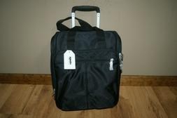 eBags Kalya Underseat Carry-On 2.0 Luggage with USB Port Bla