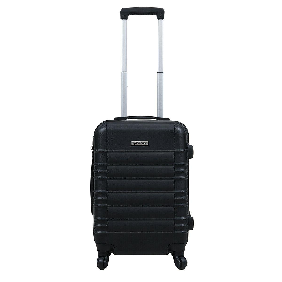 "20"" ABS Luggage Travel Bag Suitcase"
