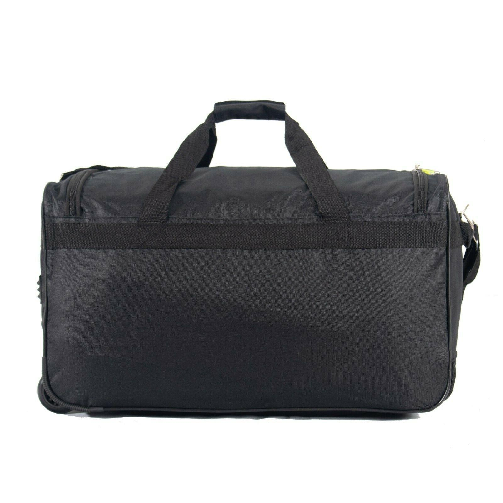 "22"" Rolling Bag On Travel Suitcase"