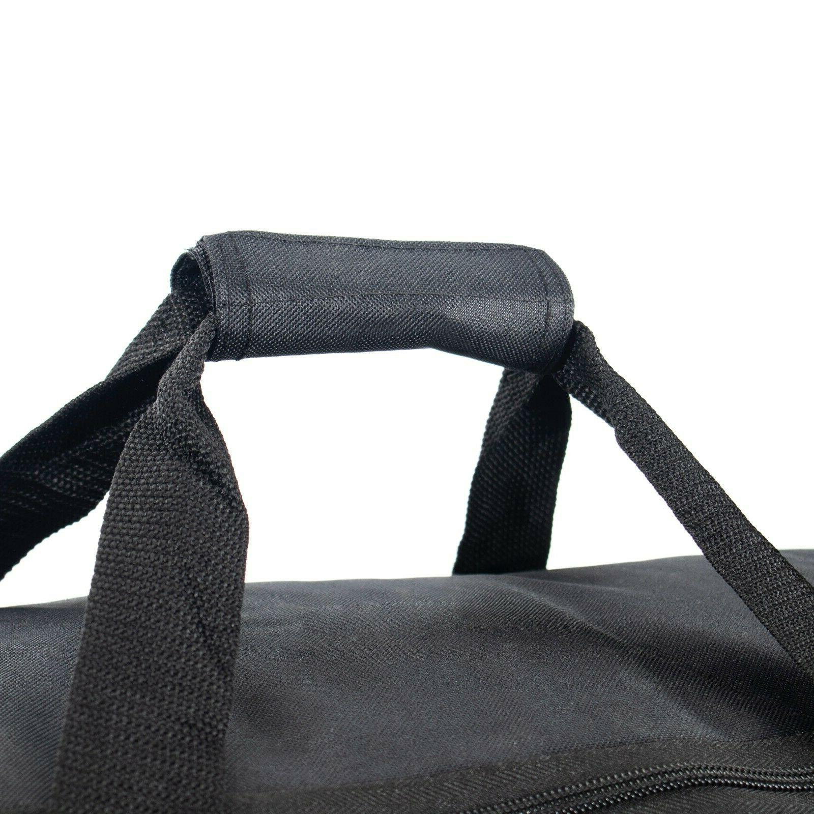 "22"" Rolling Wheeled Bag Tote On Travel Suitcase Lighweight"