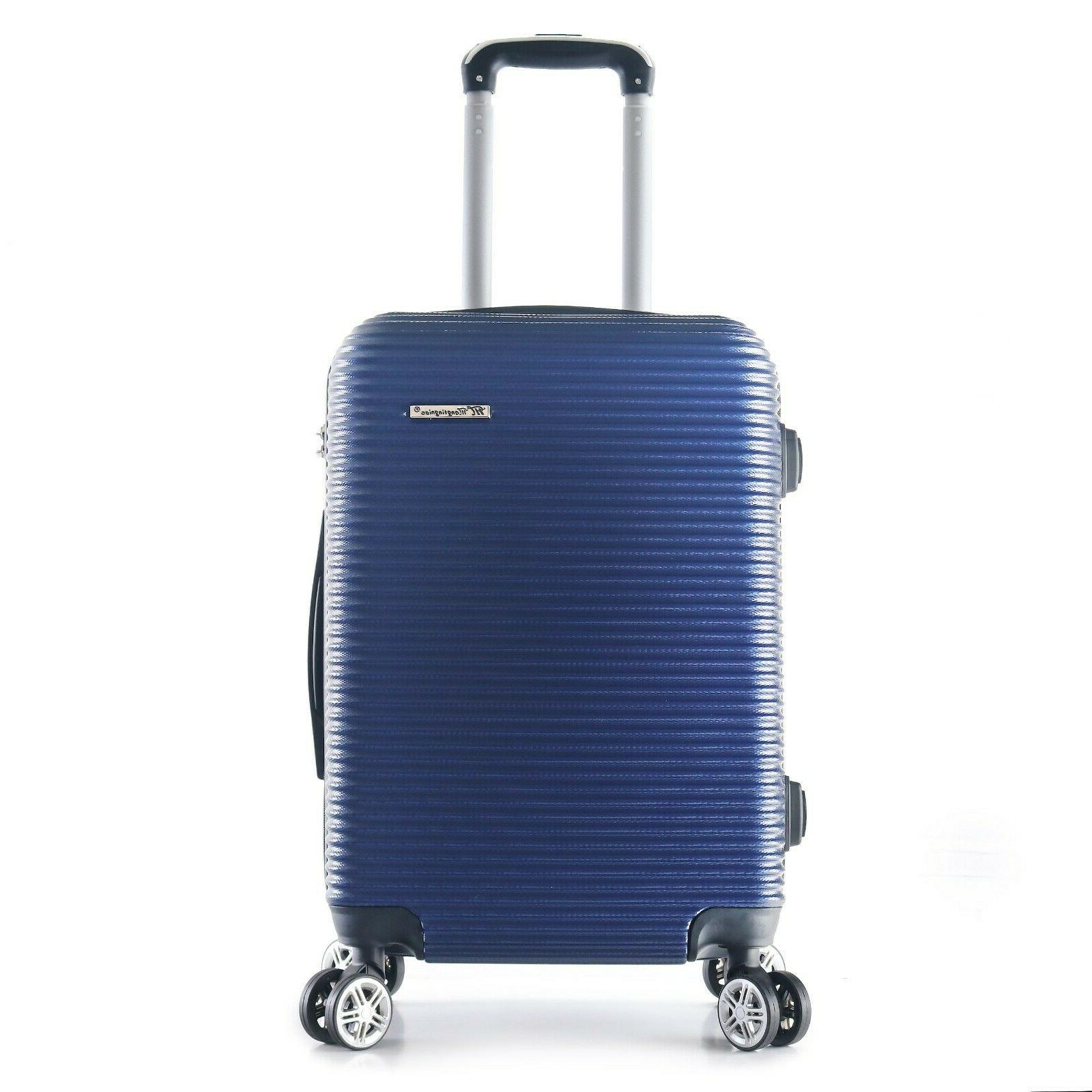 """22"""" Carry-On Hard Wheels 360 Degrees"""