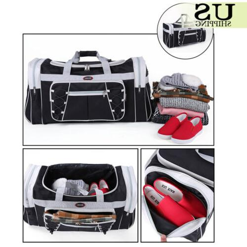 "26"" Overnight Travel Gym Sport Bag Duffle Carry On Luggage"
