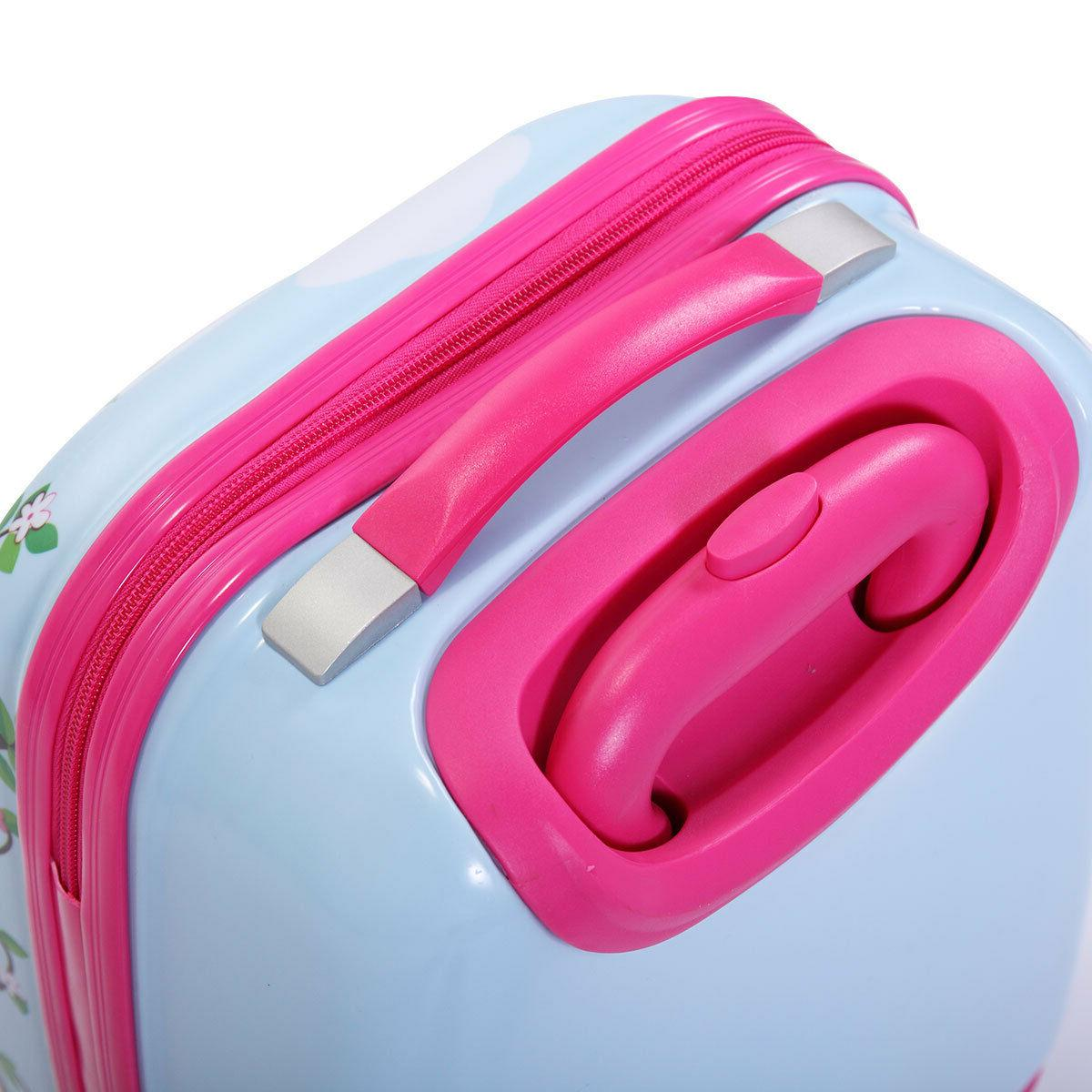 2Pcs Carry On With Suitcase Cute Set