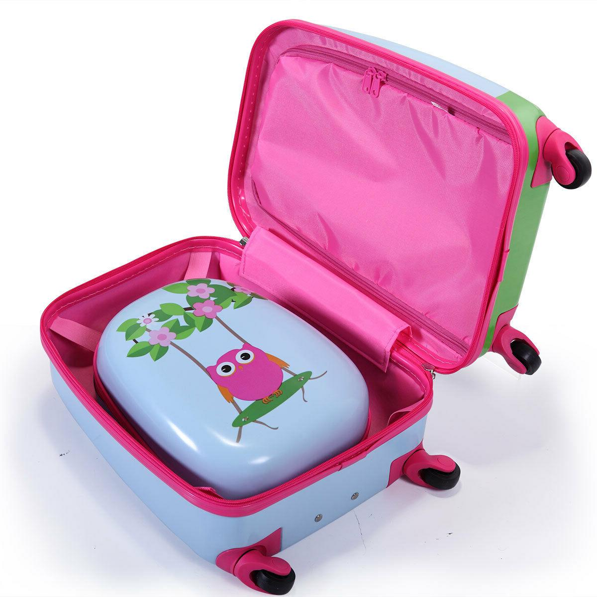 2Pcs Carry On With Suitcase Set