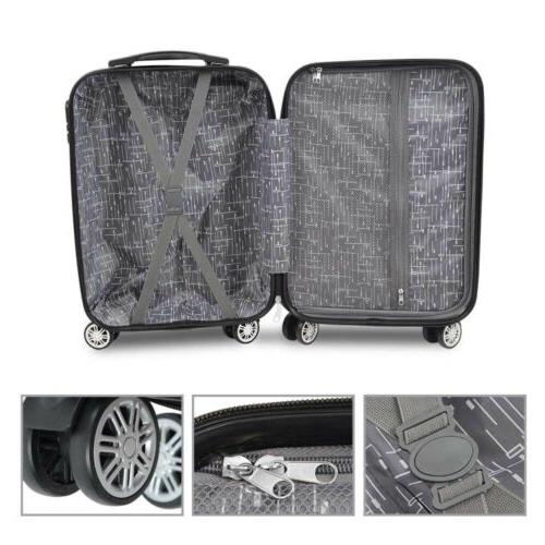3PC Luggage Hardshell Business Trolley