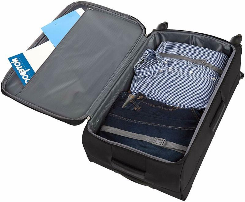 AmazonBasics 3 Carry-On Luggage Suitcase Set - Black