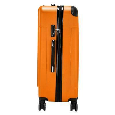 3Pcs Bag TSA Trolley Carry On Orange