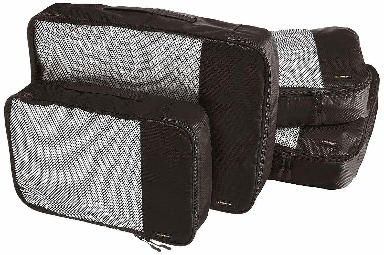 4 piece packing travel organizer cubes set
