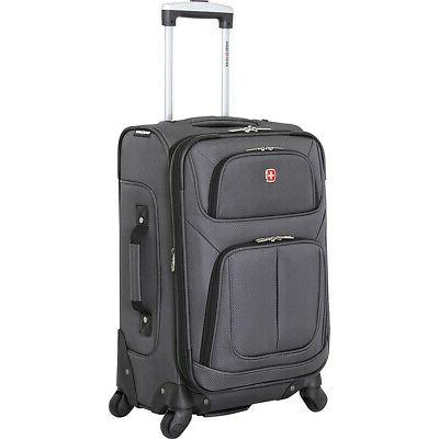 6283 21 spinner carry on luggage softside