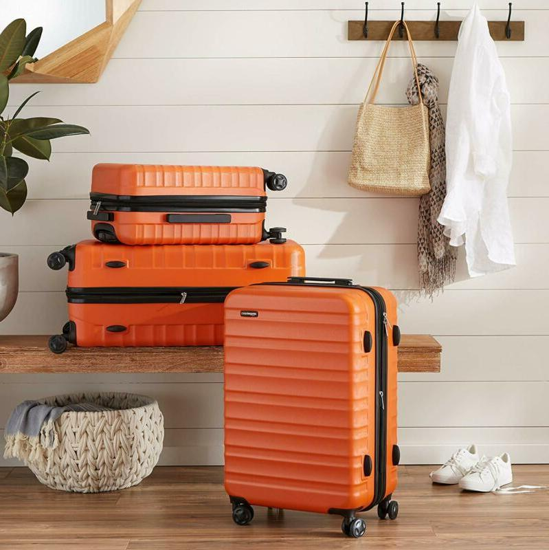 Amazonbasics Hardside Luggage - 20-Inch,