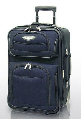 Traveler's Choice Amsterdam 21 Expandable Carry-on Rolling U