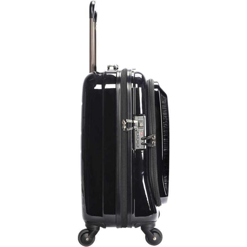 Protege Business Rolling Carry-On, Black Shipping
