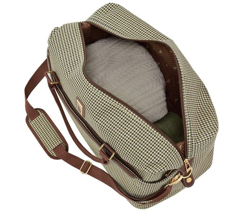 Duffle Carry On Travel Bag Olive Spacious